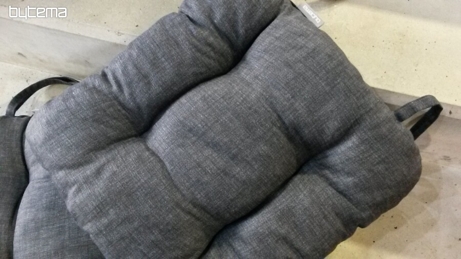 Sitzkissen Für Stühle EDGAR Anthrazit 850