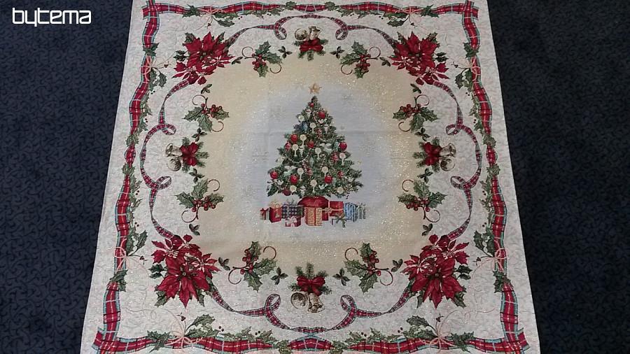 gobelin weihnachts tischdecke weihnachtsbaum bytema. Black Bedroom Furniture Sets. Home Design Ideas