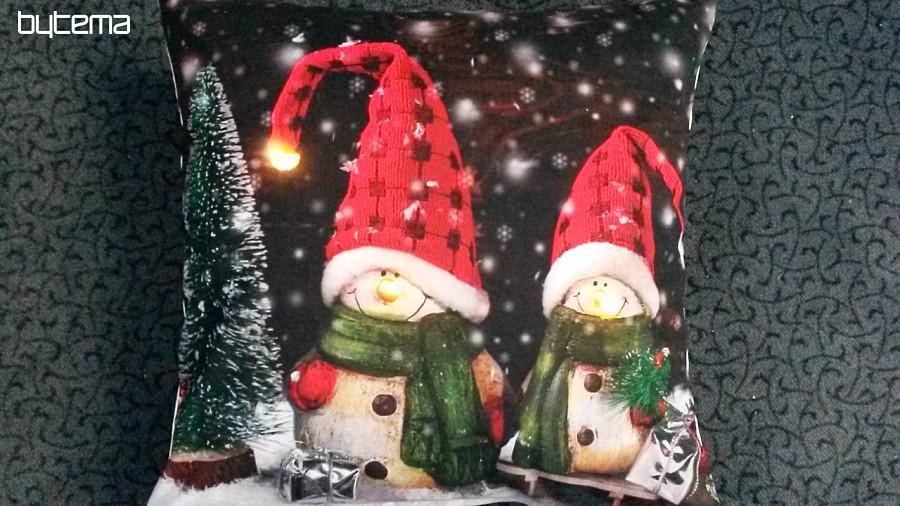 Kissenbezug Weihnachten Elf Mit Led Leuchtet 40x40 Bytema