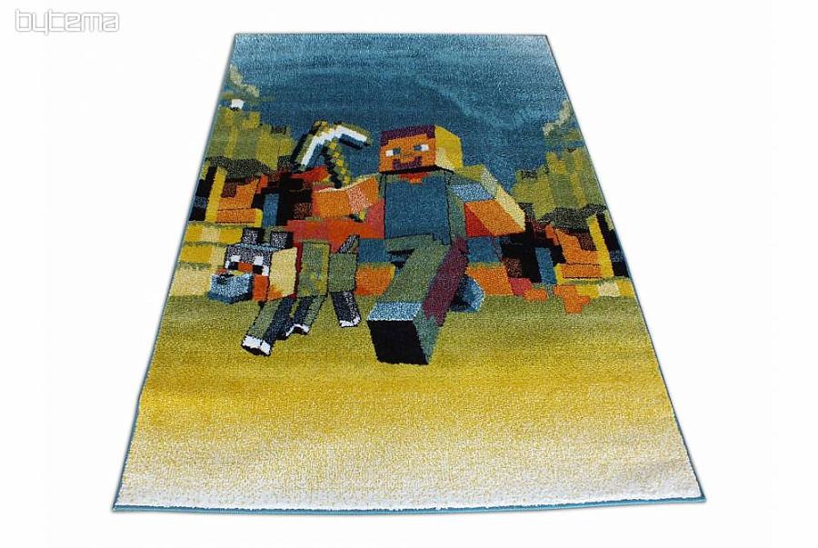 Kinderteppich Stückware MINECRAFT | Bytema