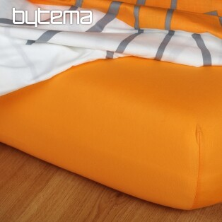 Jersey-Bettlaken ORANGE