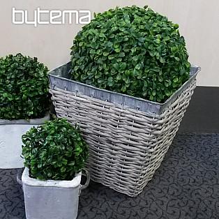fertiggardine carmen gr n silber 45x145 bytema. Black Bedroom Furniture Sets. Home Design Ideas